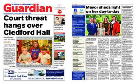 Winsford and Middlewich Guardian – August 22, 2019