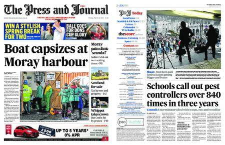 The Press and Journal Moray – March 12, 2018
