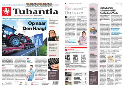 Tubantia - Hengelo – 01 oktober 2019