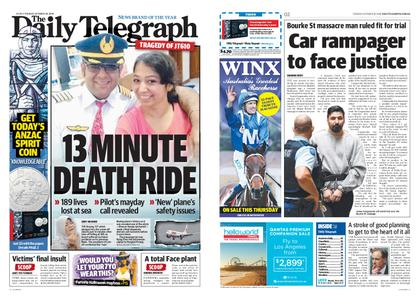The Daily Telegraph (Sydney) – October 30, 2018