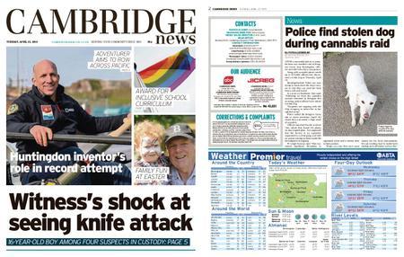 Cambridge News – April 23, 2019