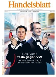 Handelsblatt - 31 Januar - 2 Februar 2020
