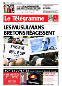 Le Télégramme Ouest Cornouaille – 19 octobre 2020