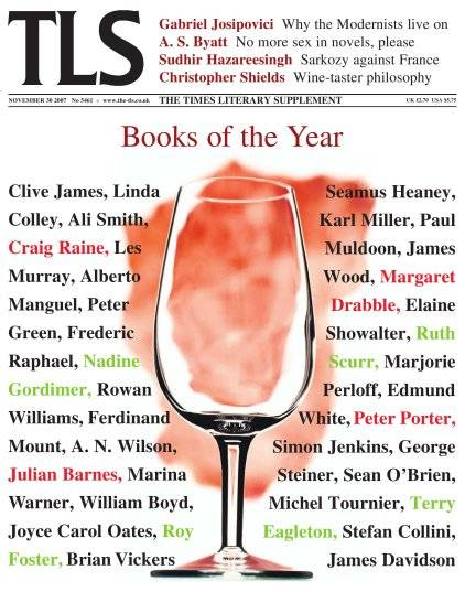 The Times Literary Supplement 2007.11.30