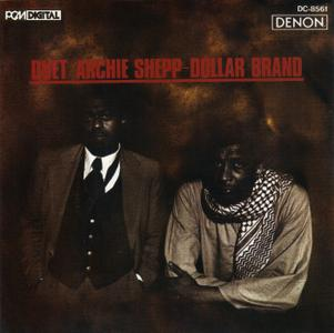 Archie Shepp and Dollar Brand - Duet (1978) {Denon DC-8561 rel 1990}