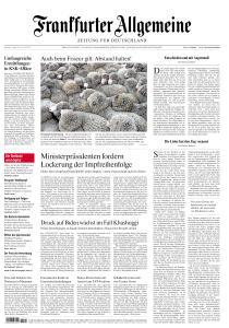 Frankfurter Allgemeine Zeitung - 1 März 2021