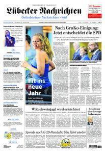 Lübecker Nachrichten Ostholstein Süd - 13. Januar 2018