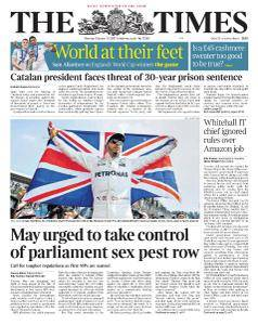 The Times - 30 October 2017