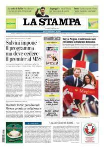 La Stampa Torino Provincia e Canavese - 18 Maggio 2018