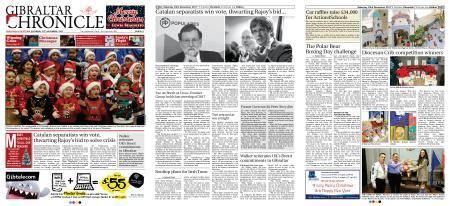 Gibraltar Chronicle – 23 December 2017