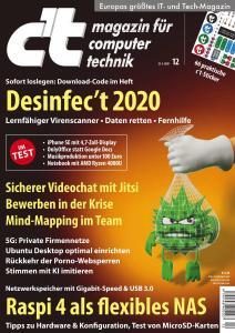 c't Magazin Nr.12 - 23 Mai 2020
