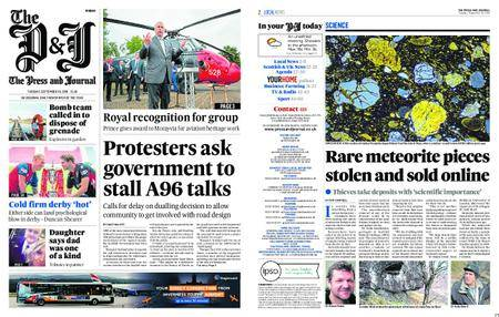 The Press and Journal Moray – September 18, 2018
