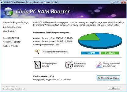 Chris-PC RAM Booster 4.91