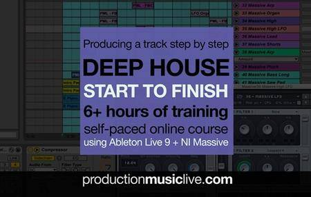 Deep House Track From Start To Finish (2016)