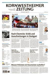 Kornwestheimer Zeitung - 30. August 2018