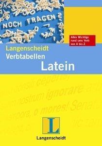 Langenscheidt Verbtabellen Latein: Unregelmäßige und regelmäßige Verben richtig konjugiert (Repost)