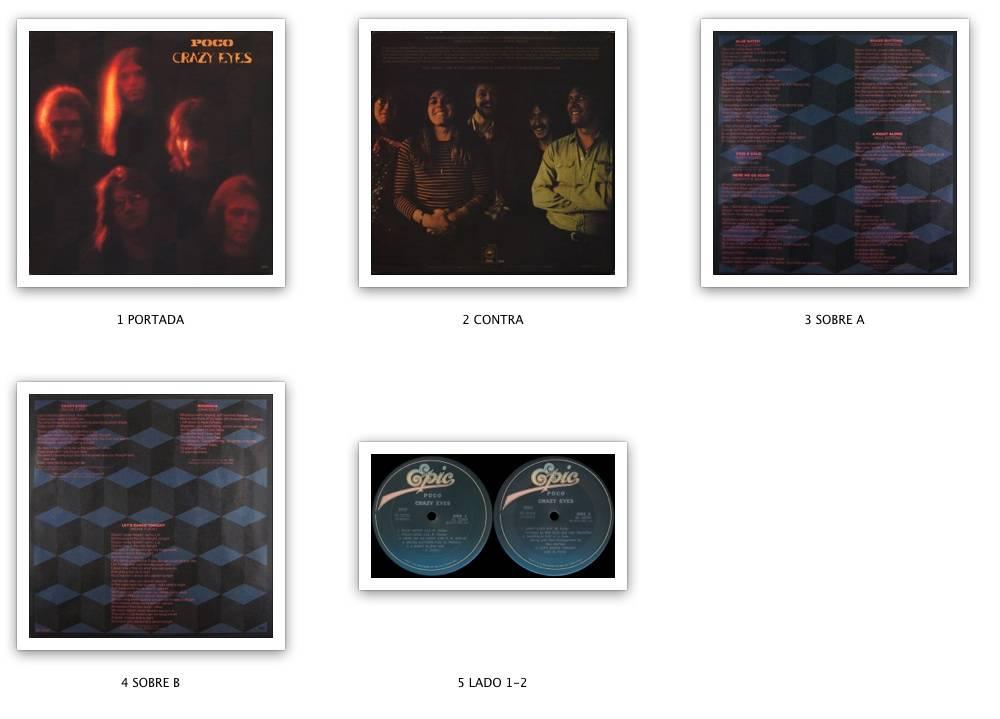 Poco - Crazy Eyes (1973) Epic/PE 32354 - US Pressing - LP/FLAC In 24bit/96kHz - NEW 2017 RIP!