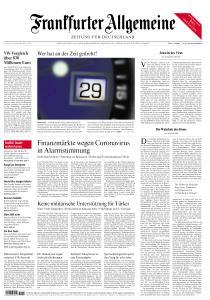Frankfurter Allgemeine Zeitung - 29 Februar 2020