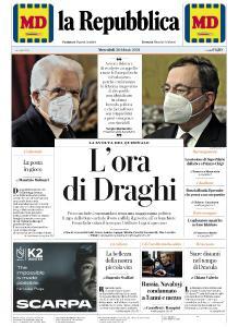 la Repubblica - 3 Febbraio 2021