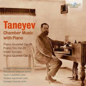 Alessandro Deljavan - Taneyev: Chamber Music with Piano (2019)
