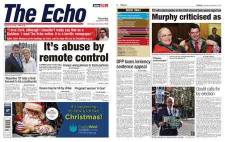 Evening Echo – December 05, 2019
