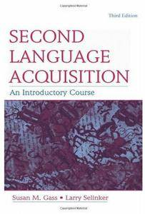 Second Language Acquisition: An Introductory Course (3rd edition) [Repost]