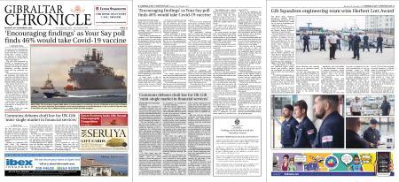 Gibraltar Chronicle – 30 November 2020