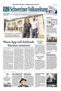 Schweriner Volkszeitung Zeitung für die Landeshauptstadt - 17. September 2019