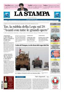 La Stampa Torino Provincia e Canavese - 12 Gennaio 2019