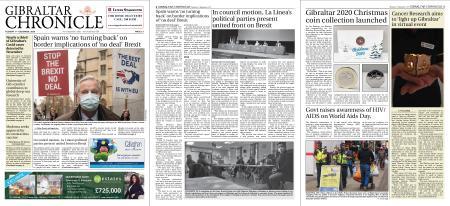 Gibraltar Chronicle – 01 December 2020