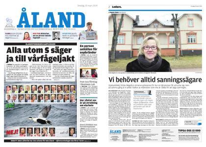 Ålandstidningen – 20 mars 2019