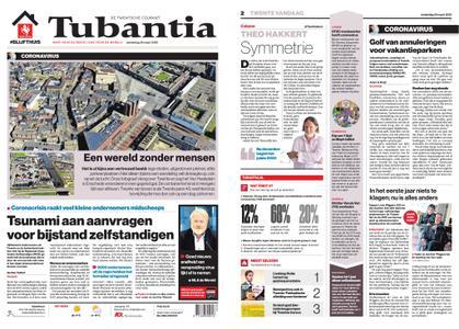 Tubantia - Enschede – 26 maart 2020