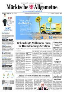 Märkische Allgemeine Luckenwalder Rundschau - 26. Februar 2019