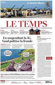 Le Temps - 10 avril 2019