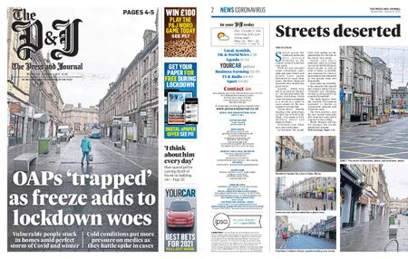 The Press and Journal Moray – January 06, 2021