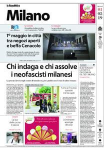la Repubblica Milano – 01 maggio 2019