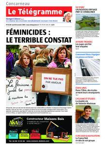 Le Télégramme Concarneau – 18 novembre 2019