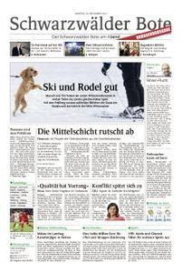 Schwarzwälder Bote Hechingen - 20. November 2017