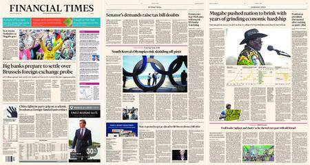 Financial Times Europe – 20 November 2017