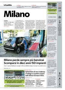 la Repubblica Milano - 25 Settembre 2018