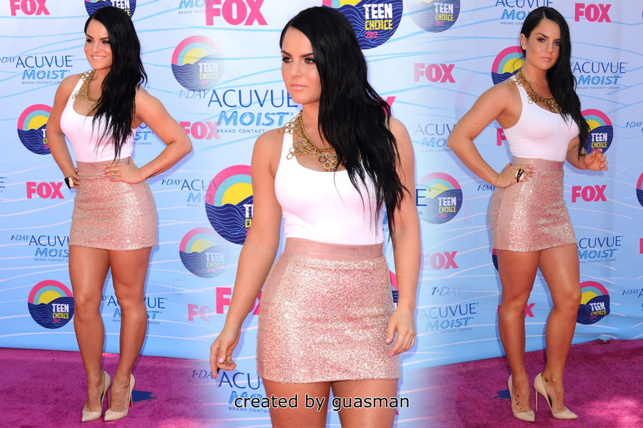 Joanna Levesque - 2012 Teen Choice Awards in Los Angeles July 22, 2012