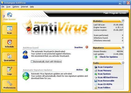 Ashampoo AntiVirus v1.40