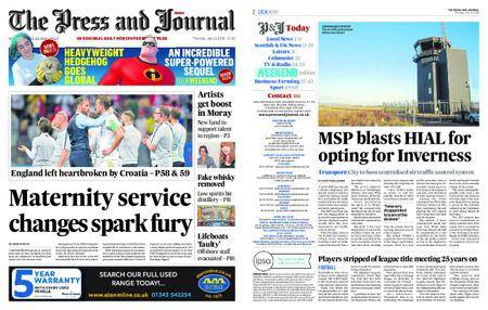 The Press and Journal Moray – July 12, 2018