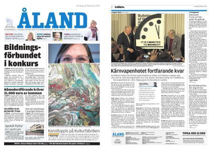 Ålandstidningen – 28 februari 2019