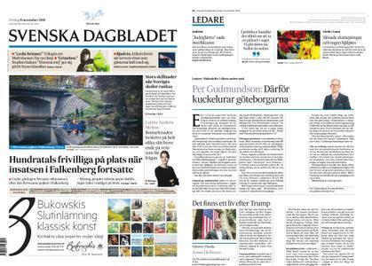 Svenska Dagbladet – 09 november 2018