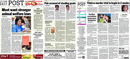 The Guam Daily Post – February 11, 2020