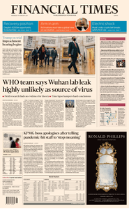 Financial Times Europe - February 10, 2021