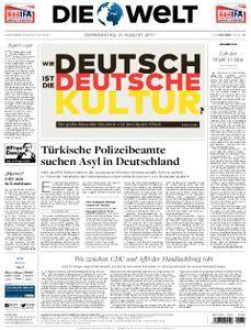 Die Welt - 31. August 2017