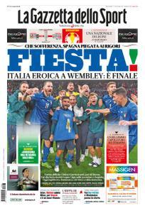 La Gazzetta dello Sport Nazionale - 7 Luglio 2021