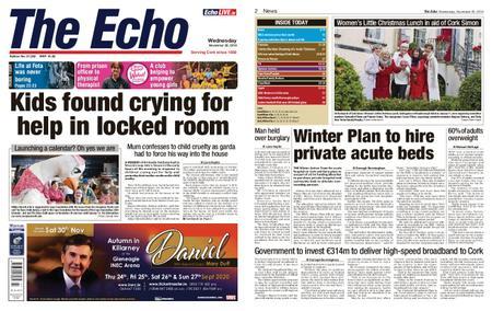 Evening Echo – November 20, 2019